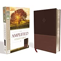 The Amplified Study Bible, Leathersoft, Brown [Large Print]
