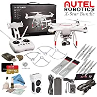 Autel Robotics X-Star Drone with 4K Camera & Wi-Fi HD Live View w/ eDigitalUSA Advanced Bundle (White)
