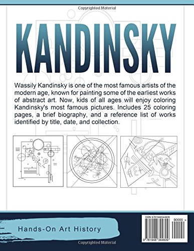 Kandinsky Coloring Pages For Kids And Kids At Heart Famous Artists
