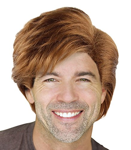 Cece Men's George Michae Style Cosplay Hair Wigs w/ Wig Cap for Costume Party Halloween Role Play