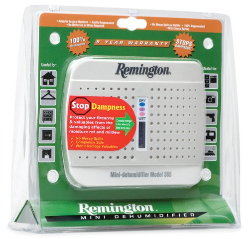 Remington Dehumidifier Compact Attracts Moistur