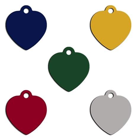 Pet Tag Art Etiqueta Personalizable con Forma de corazón para ...