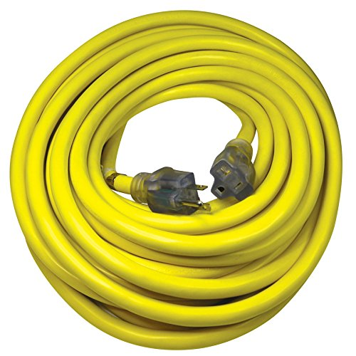 Pro Yellow 50-ft 20-Amp 110-Volt 10-Gauge Yellow Outdoor Extension Cord