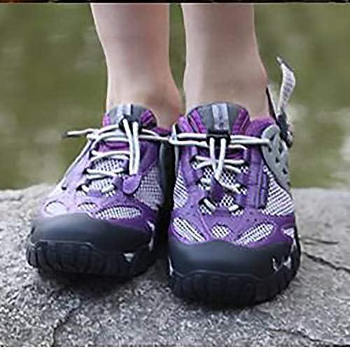 ユニセックスパープル屋外スイミング川上、スキニングビーチダイビングスピード干渉ウォーターサーフィン水陸両用フィットネスランニングシューズ ポータブル (色 : Purple, Size : US10.5)