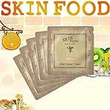 [SKIN FOOD] SKINFOOD Gold Caviar Toner Sample 10pcs+SAMPLE2EA/Korea Cosmetics