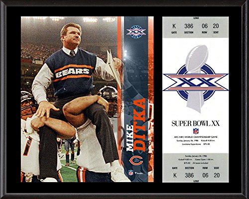 - Mike Ditka Chicago Bears 12