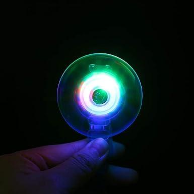 Amazon.com: Kiorc - Muñequera luminosa para niños, giratoria ...