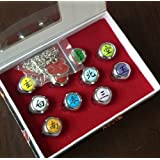 All ten set NARUTO Naruto cosplay Akatsuki ring (Japan import / The package and the manual are written in Japanese) by Month