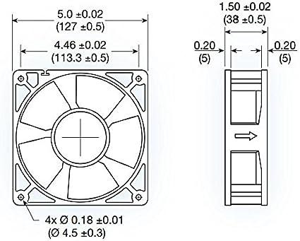 Mechatronics 12v DC Fans 80x25mm, Ultra High Speed
