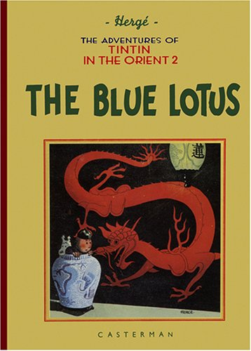 Book cover for The Blue Lotus