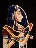 Exotic India Bani Thani Water Color Painting