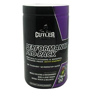 Amazon.com: Cutler Nutrición Rendimiento pro-pack ...