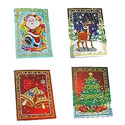 Christmas Crafts 5D Diamond Painting Kit