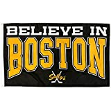 Cheap Sully's Brand Believe in Boston (Black and Gold) Banner / Flag