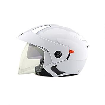 mintice ™ cascos Universal seguridad demi-visage Unisex Hombres Mujeres para moto motocicleta ATV Scooter
