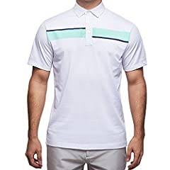 Printed polo's are contemporary classic - the Jonah has a stylish abstract print with contrasting fashion colours. This polo has a design twist to keep it interesting yet classic enough to provide you with an effortless style. Lightweight jer...