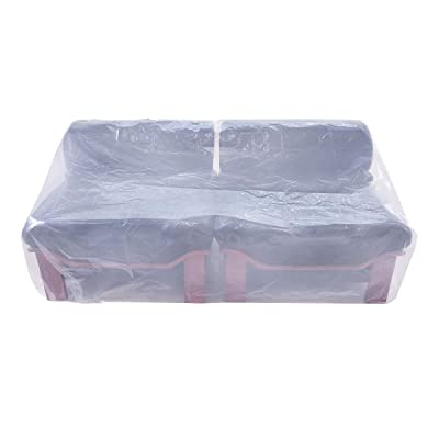 """HGmart Plastic Outdoor Furniture Cover 5.5 Mil Extra Thick Pet Dog Cat Furniture Cover Waterproof Dust-Proof for Garden Lawn Patio Furniture Protector (97""""x62"""") : Garden & Outdoor"""