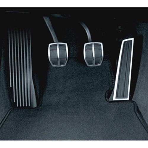 Bmw M Pedals - BMW pedal pads, stainless steel (manual transmission) for 3 Series 2006-2012