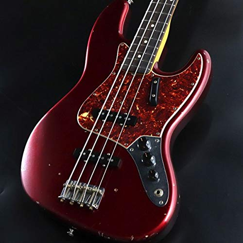 Fender Custom Shop / 1964 Jazz Bass Relic Candy Apple Red   B07RN51LLT