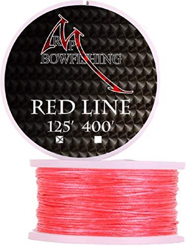 RPM Bowfishing Line 125'. Red
