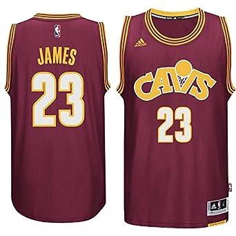 adidas LeBron James Cleveland Cavaliers Youth Wine Swingman Jersey