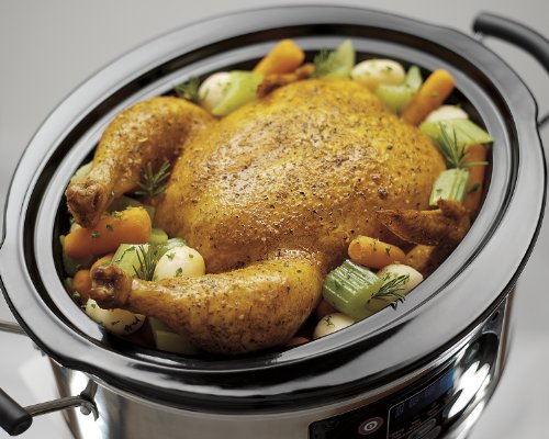 Hamilton Beach 33969A Set 'n Forget Programmable Slow Cooker, 6-Quart