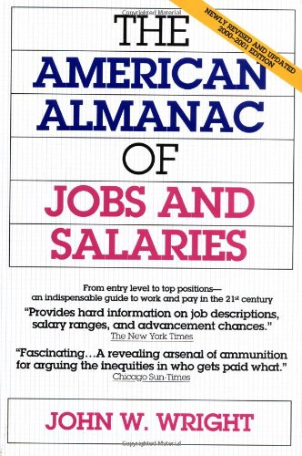 The American Almanac Of Jobs And Salaries   2000 2001 Edition
