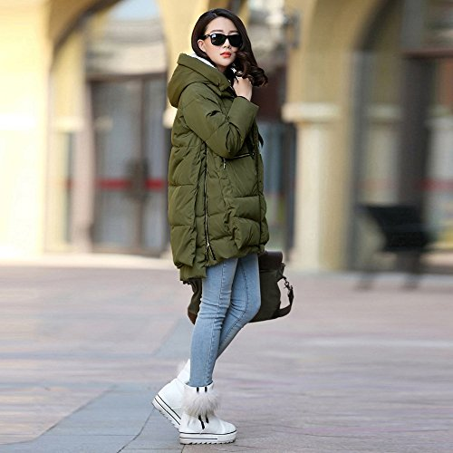 Amazon.com: Womens Loose Coats Chaofanjiancai Thickening Cotton Coat Large Size Hoodies Solid Pocket Outerwear: Clothing