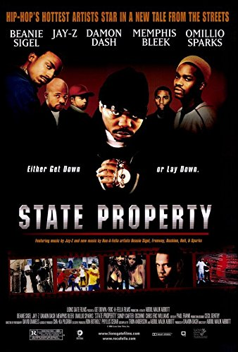 State Property Poster Beanie Sigel Omillio Sparks Memphis Bleek