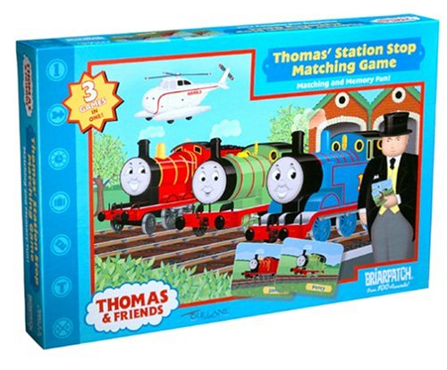 Thomas & Friends Station Stop Matching Game by Briar Patch