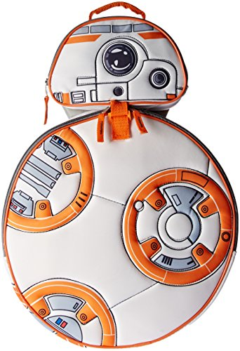 Star Wars Boys' Ep 7 Bb-8 Backpack Lunch Set, - Wars Star Bb8 Vii