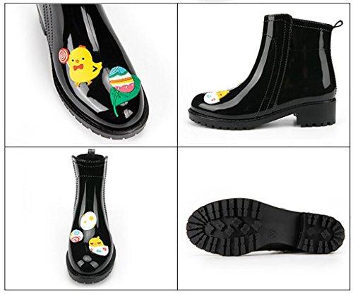 botas antideslizantes lluvia lluvia Martin botas urbanas impermeables mujeres Botas de botas de informales para A botas pwqA5c4SB