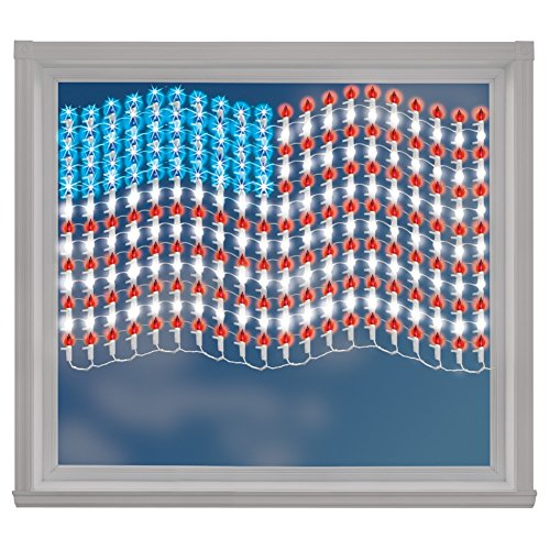 Lighted Mesh American Wall Multi
