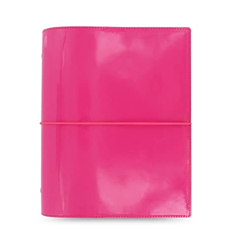 Filofax 022482 - Agenda de anillas (tamaño A5), color rosa caliente