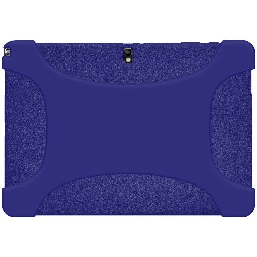 Amze Soft Silicone Skin Fit Jelly Case for Samsung GALAXY Note PRO 12.2/Tab PRO 12.2, Blue(AMZ96924) by Amzer