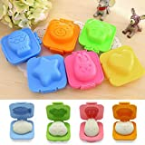 Kitchen Appliance Packages Luxury VIPASNAM-6Pcs Reusable Sushi Boiled Egg Rice Mold Bento Maker Sandwich Kitchen Tools
