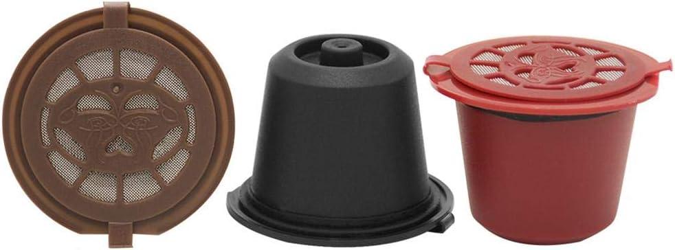 Asiproper - 3 filtros de cápsulas de café Reutilizables para ...