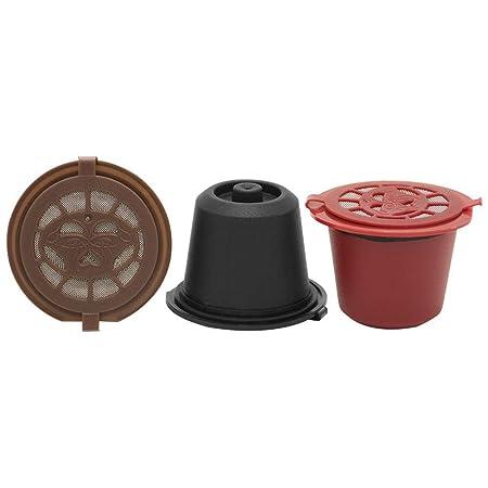 3 cápsulas de café rellenables reutilizables sin papel y ...