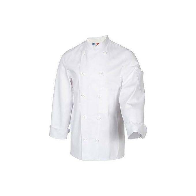 Robur - Chaqueta de cuisinie - Támesis - Blanca: Amazon.es: Ropa y accesorios