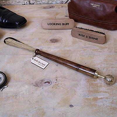 kalanka 46cm Calzador Estilo Antiguo Con Latón y madera Deporte ...