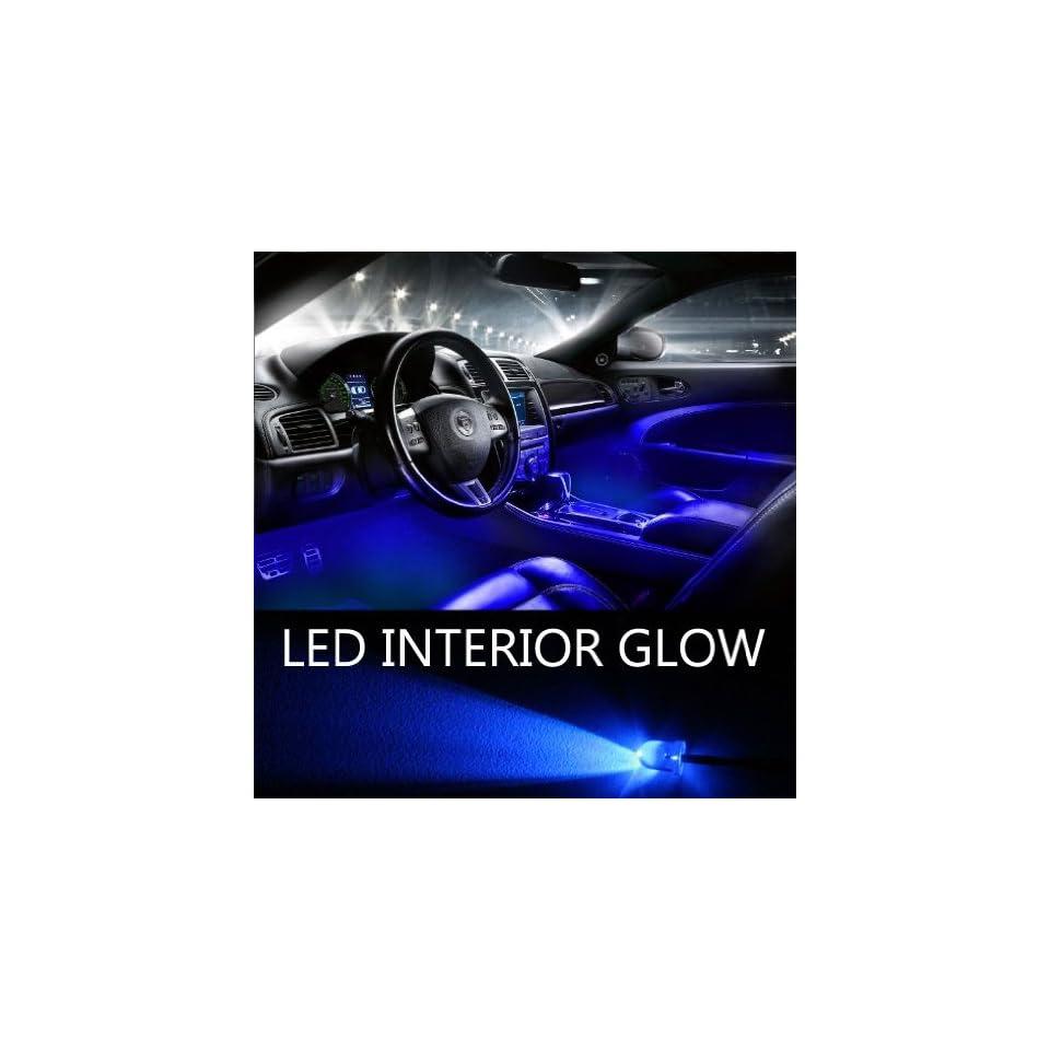GENSSI Blue LED Lights Interior Package Kit for Ford F150 2010 2012