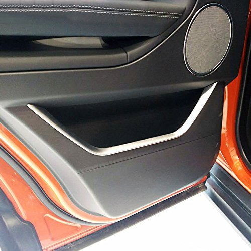 Rover Strip Land (For Land Rover Range Rover Evoque 2012-2017 Car-Styling ABS Chrome Car Door Decoration Trim Strips Accessories 4pcs/Set)