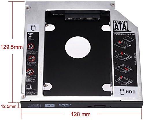 Zacro SATA HDD HD SATA Segundo 2.5 Disco Duro Caddy/Optical ...
