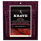 Krave Black Cherry Barbeque Pork Jerky, 75-Gram