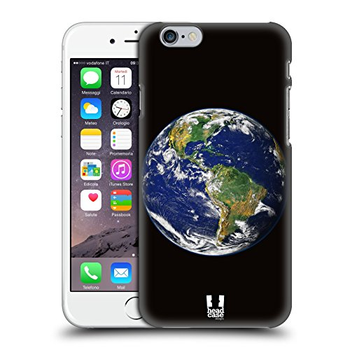 Head Case Designs Terra Spazio Aperto Cover Retro Rigida per Apple iPhone 6 / 6s