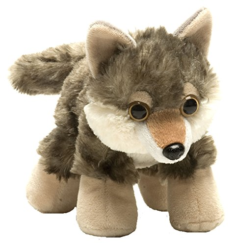 (Wild Republic Wolf Plush, Stuffed Animal, Plush Toy, Gifts for Kids, Hug'Ems 7