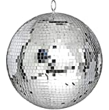 Large 12'' Mirror Glass Disco Ball DJ Dance Home Party Bands Club Stage Lighting