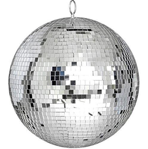 Large 12'' Mirror Glass Disco Ball DJ Dance Home Party Bands Club Stage Lighting by Saruwan