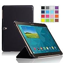 Samsung Galaxy Tab S Pro 12 case, KuGi High quality ultra-thin Smart Cover Case for Samsung Galaxy Tab S Pro 12 Tablet. (Black)