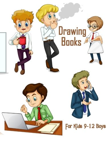 Drawing Books For Kids 9-12: Blank Journals To Write In, Doodle In, Draw In Or Sketch In, 8
